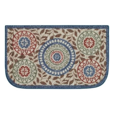 better homes and gardens medallion kitchen rug multi color - Homes And Gardens Kitchens