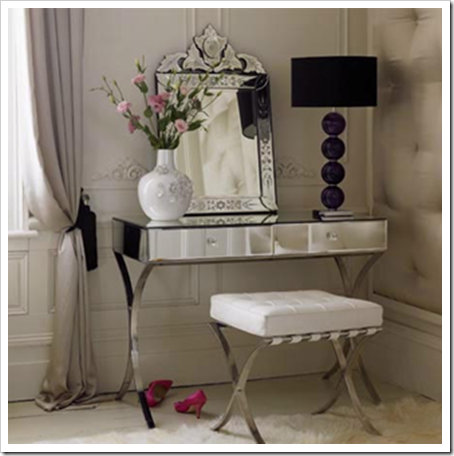 Mirrored Vanity   Design Photos, Ideas And Inspiration. Amazing Gallery Of  Interior Design And Decorating Ideas Of Mirrored Vanity In Bedrooms,  Closets, ...