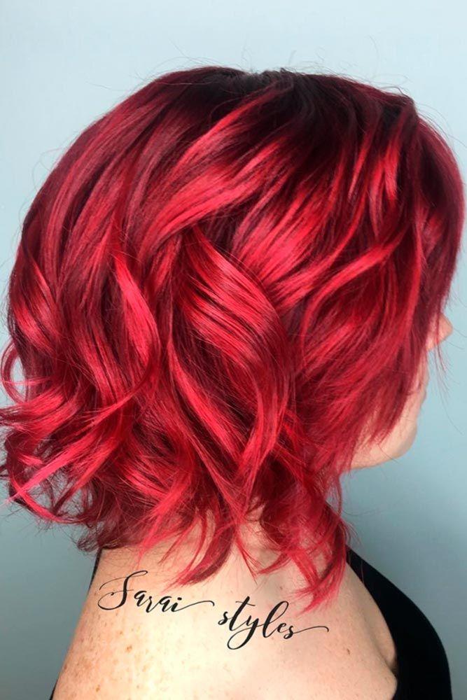 45 Versatile Medium Bob Haircuts To Try Lovehairstyles Com Red Bob Hair Short Red Hair Hair Styles
