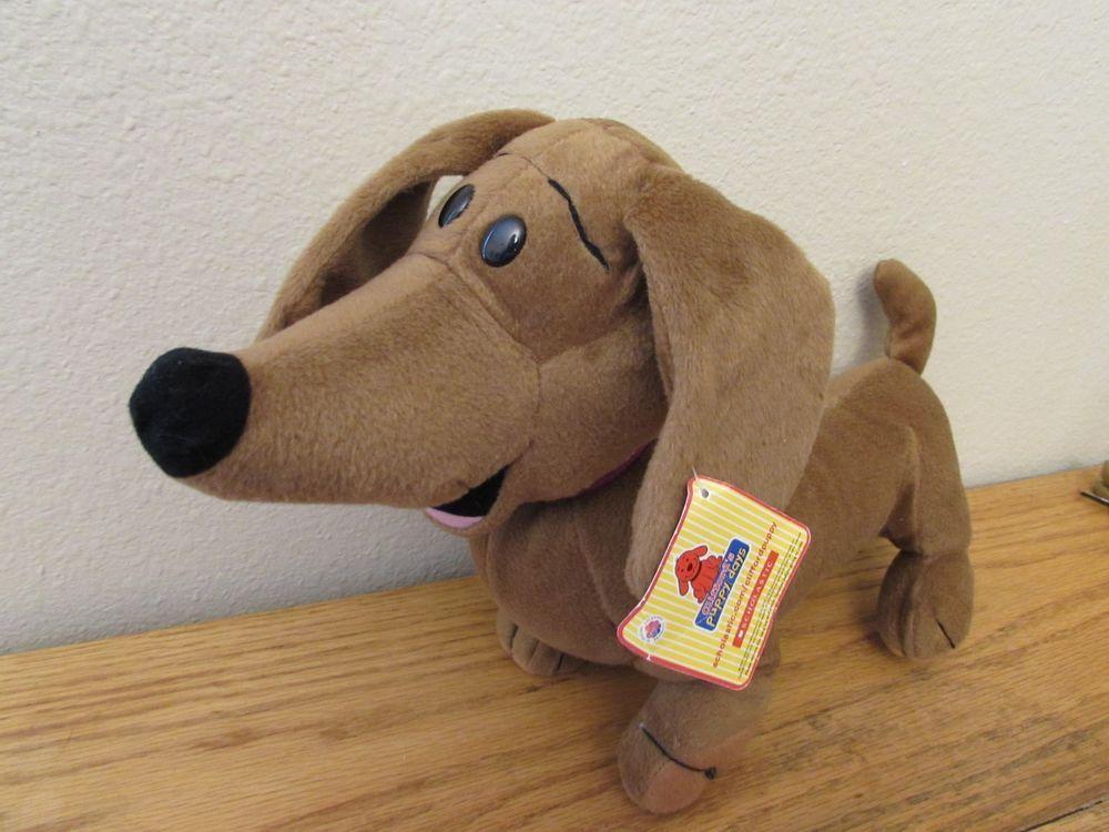 0711fe8a1c9 Clifford s Puppy Days Jorge Dachshund Plush Stuffed Animal Toy Big Red Dog  2004  Scholastic