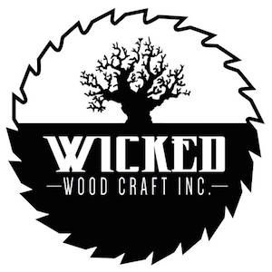 Custom Mantles From 295 At Wicked Wood Craft Logos Pinterest