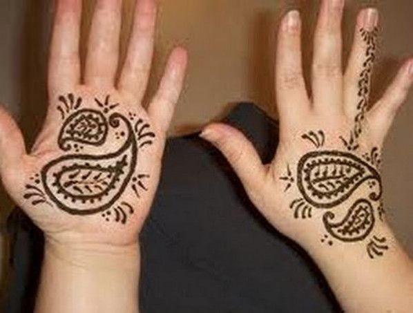 easy mehndi designs for kids on eid | mehndi designes | pinterest