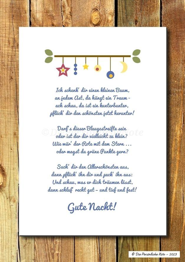 Druck Wandbild Baum Der Traume Kinderzimmerdeko Spruche Kinder Weihnachtsgedichte Karten Spruche