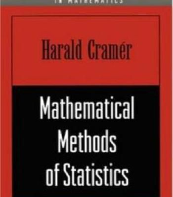 Mathematical Methods Of Statistics Pdf Books Data Science