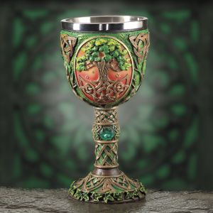 Celtic Tree of Life Goblet - Gifts, Clothing, Jewelry, Home Decor and Home Furnishings as Featured in Popular Catalogs | Catalog Favorites