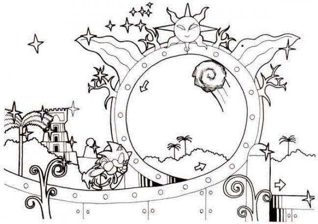 Sonic The Hedgehog 1 Concept Art Concept Art Art Illustration Design