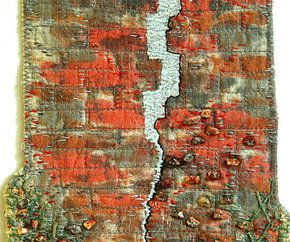 textiles artists inspired by bricks - Google Search