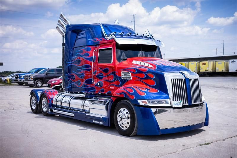 Cars Of Transformers The Last Knight Western Star Trucks