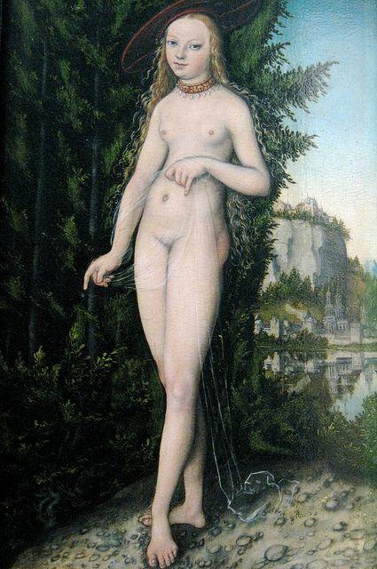 "Fine Art Print NEW 17/"" x 24/"" Lucas the Elder Venus.. HERMITAGE MUSEUM Cranach"