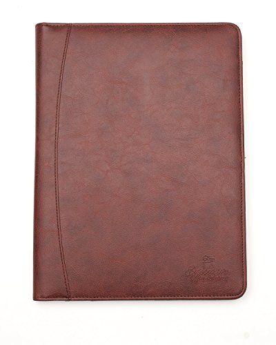 Professional Business Padfolio Portfolio Case Organizer Resume - leather resume folder