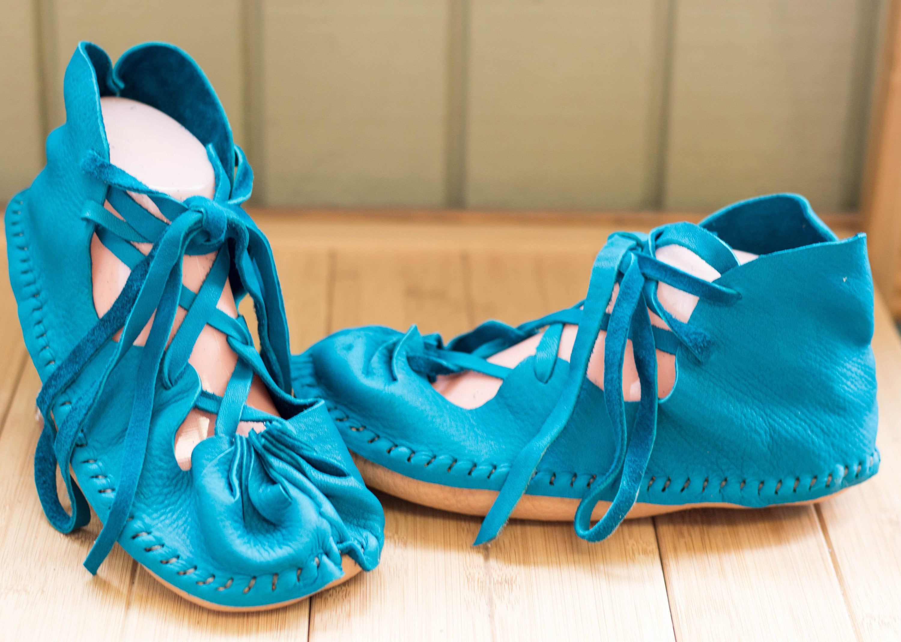 Best Handmade Sandals Hand Sewn Turquoise Shoes Summer Shoe 400 x 300
