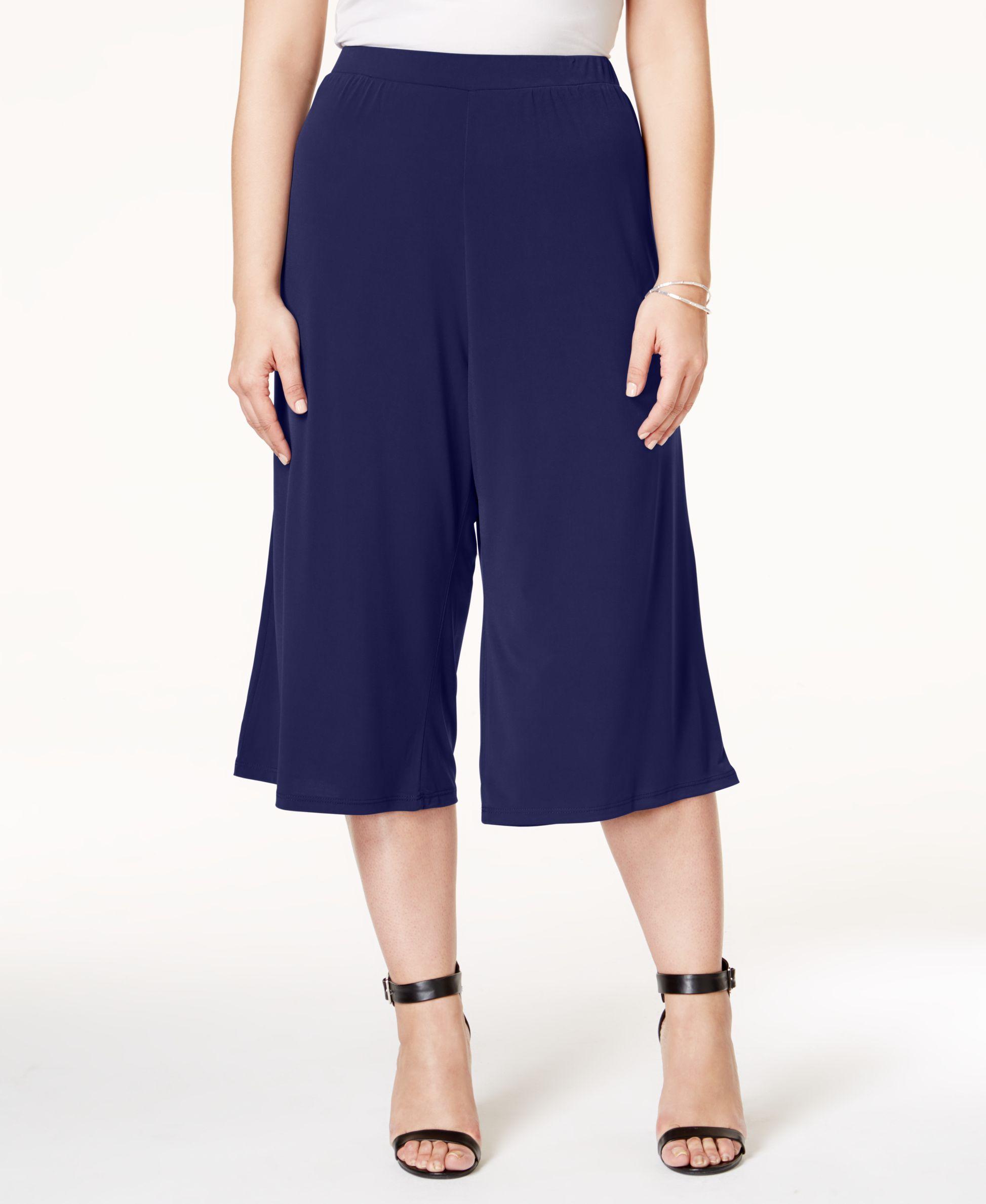 a6010077b639b Ing Plus Size Gaucho Pants