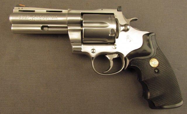 Colt Anaconda Revolver Stainless 4