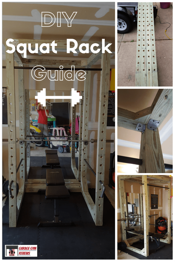 Diy squat rack guide gym ideas diy home gym at home gym