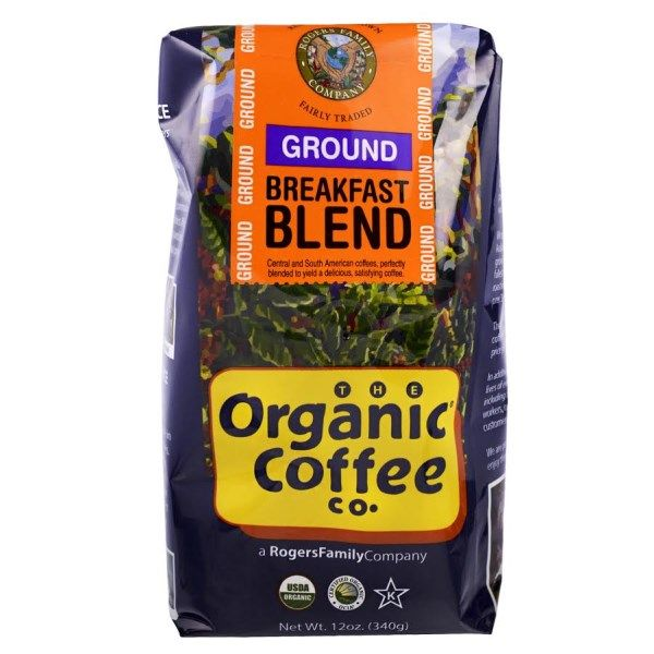 Organic Coffee Co Breakfast Blend Ground 12 Oz 340