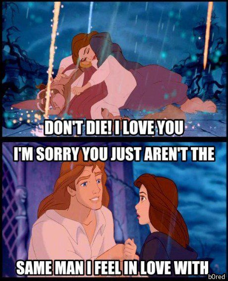 When He Shaves Disney Funny Disney Memes Disney Shows