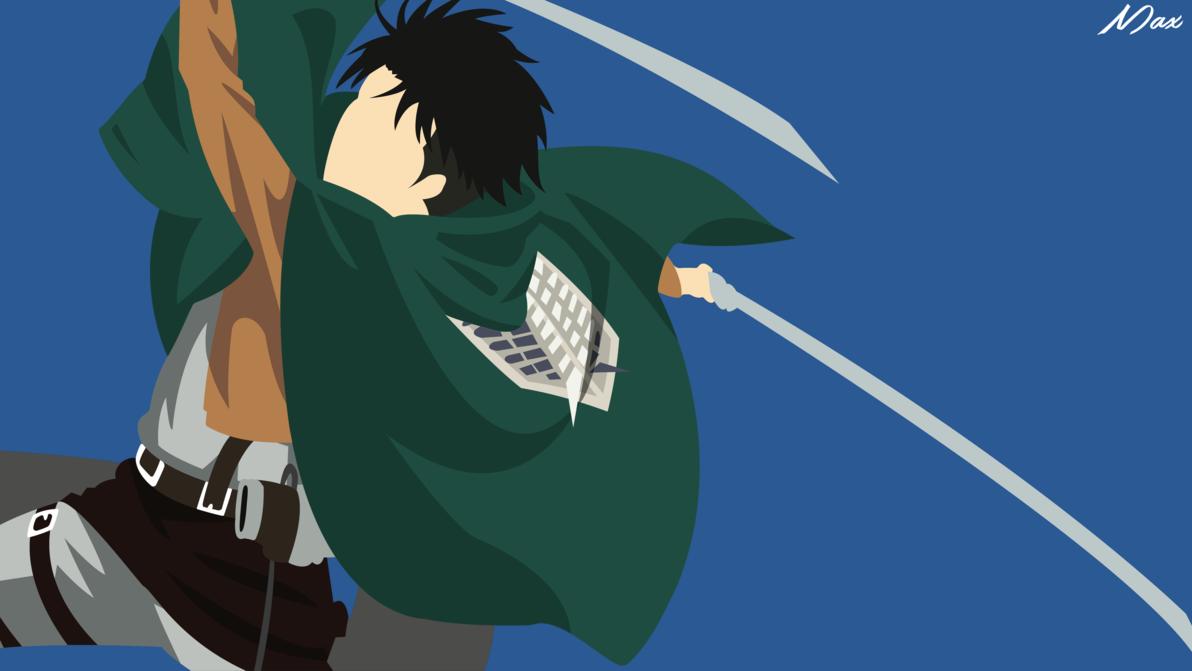 Levi Ackerman From Shingeki No Kyojin Minimal Wall By Max028 Deviantart Com On Deviantart Anime Canvas Attack On Titan Anime Hd Anime Wallpapers