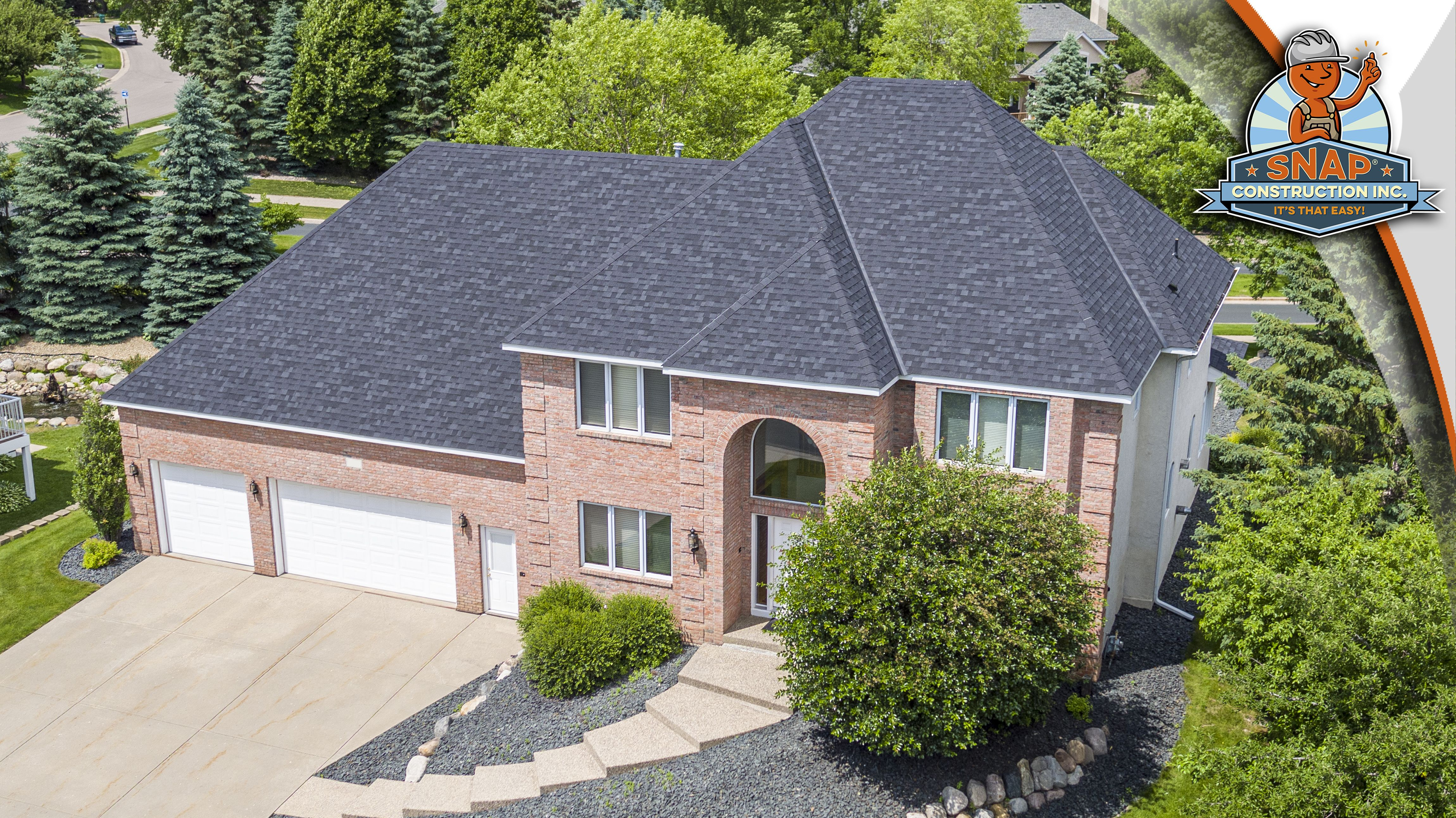 Best Owens Corning Trudefinition Duration Shingles In Onyx Black It S That Easy House Styles 400 x 300