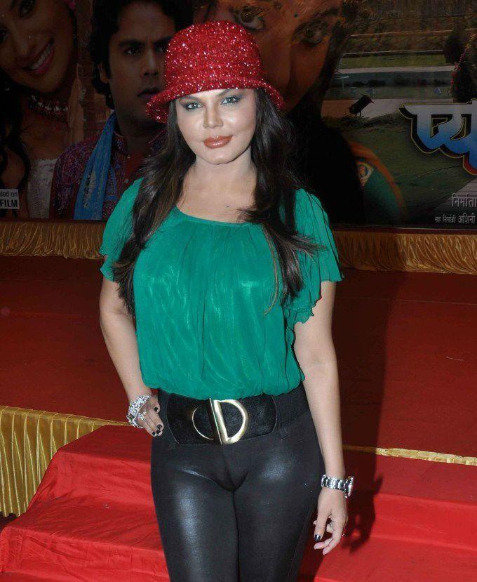 rakhi sawant pantyless