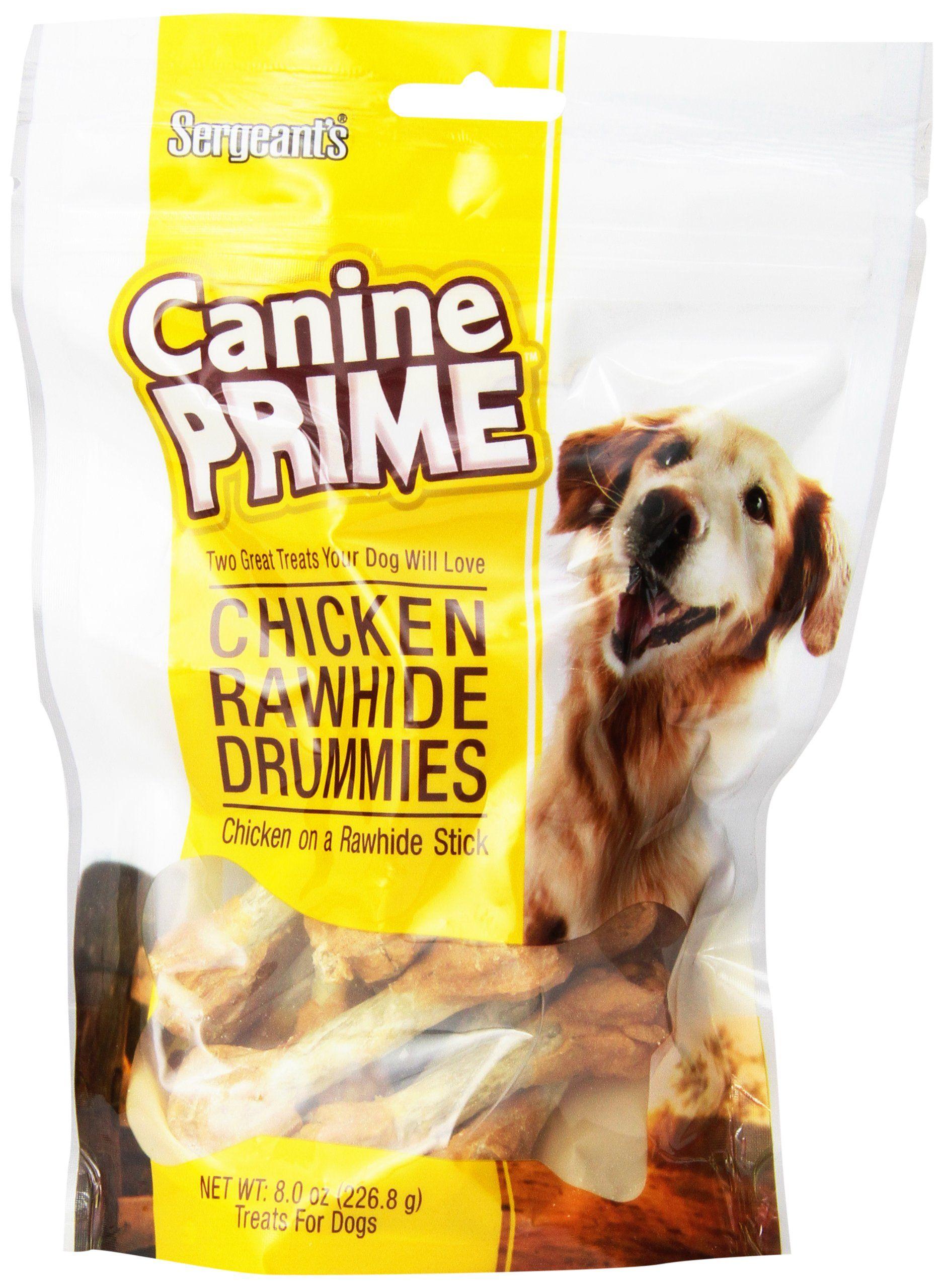 Sergeants Canine Prime Chicken Drummies Pet Food ** Click