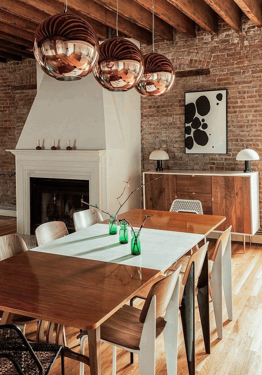 Urban Loft Apartment in Jersey City Enriched with Color