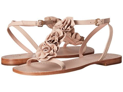 Kate Spade Caryl Sandals Pale Pink Soft Vaccheta $165 SHIPS FREE or PICK UP IN SANTA MONICA * BEST PRICE GUARANTEED *  PURCHASE HERE: http://piermart.com/kate-spade-caryl-sandals-pale-pink-soft-vaccheta-165-ships-free/