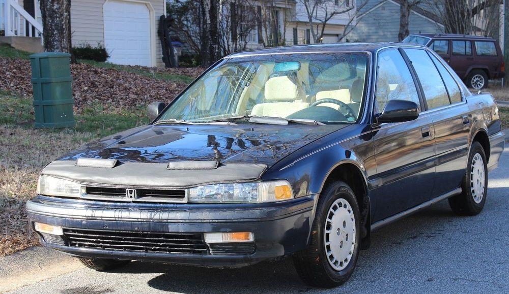 EBay: 1991 Honda Accord LX 1991 Honda Accord LX 4 Door Sedan CB7 135K 4
