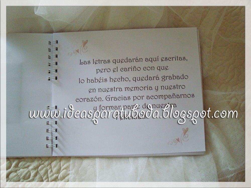 Librodefirmasbodadedicatoriajpg 1000750  Destinos De Boda