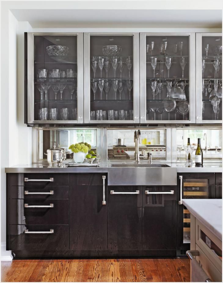 Distinctive Kitchen Cabinets with Glass Front Doors how to ...