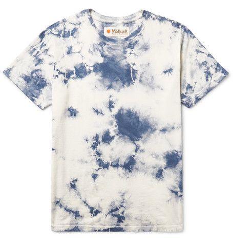 algodón camiseta teñido jersey la con de de Mollusk de mejor Camiseta qFSxwfP7
