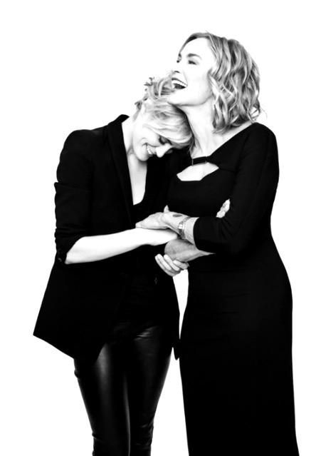 Taylor Schilling (OITNB) and Jessica Lange (AHS)