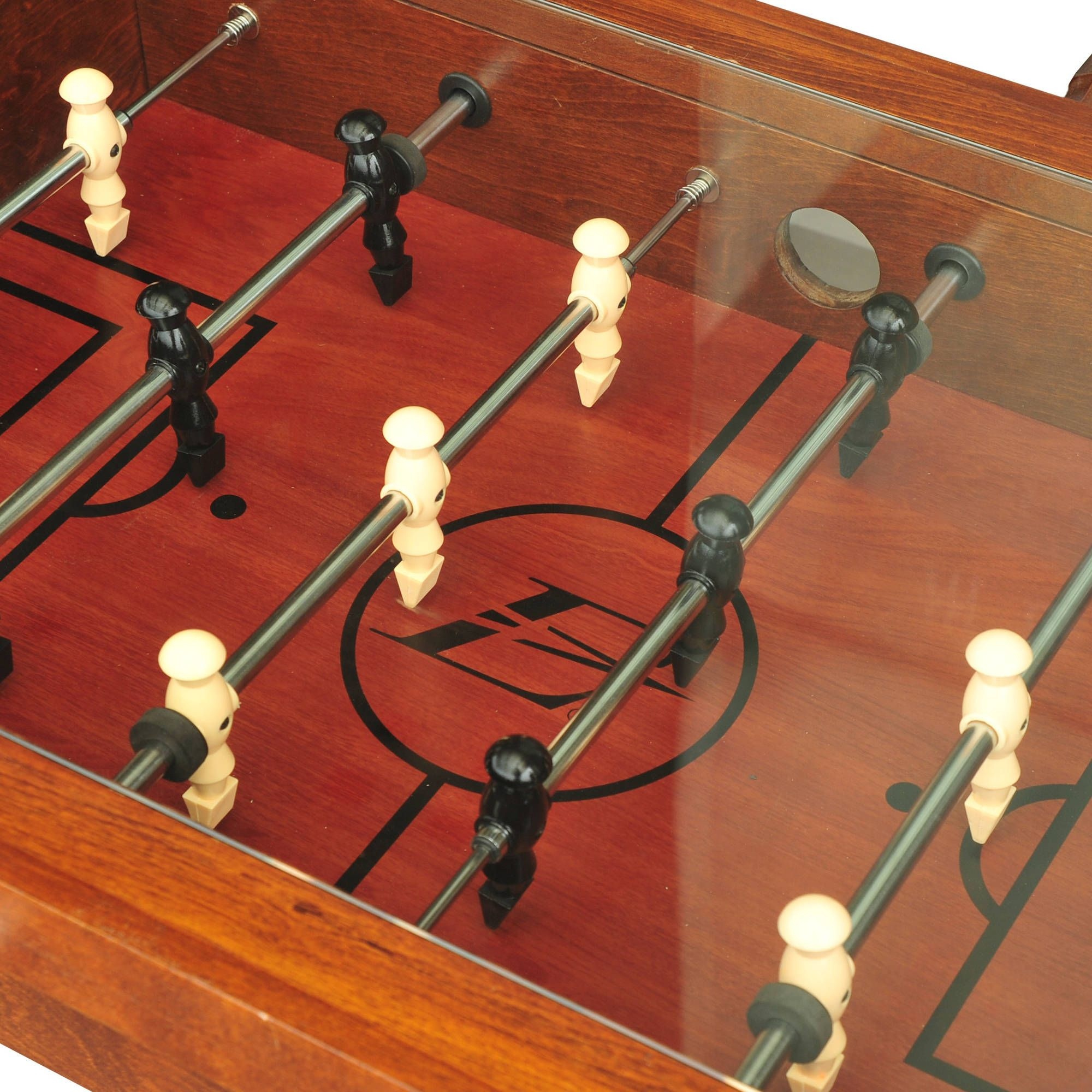 Black Friday Deal Eastpoint Sports Coffee Table Soccer Game Dark Wood Foosball Coffee Tables For Sale Eastpoint