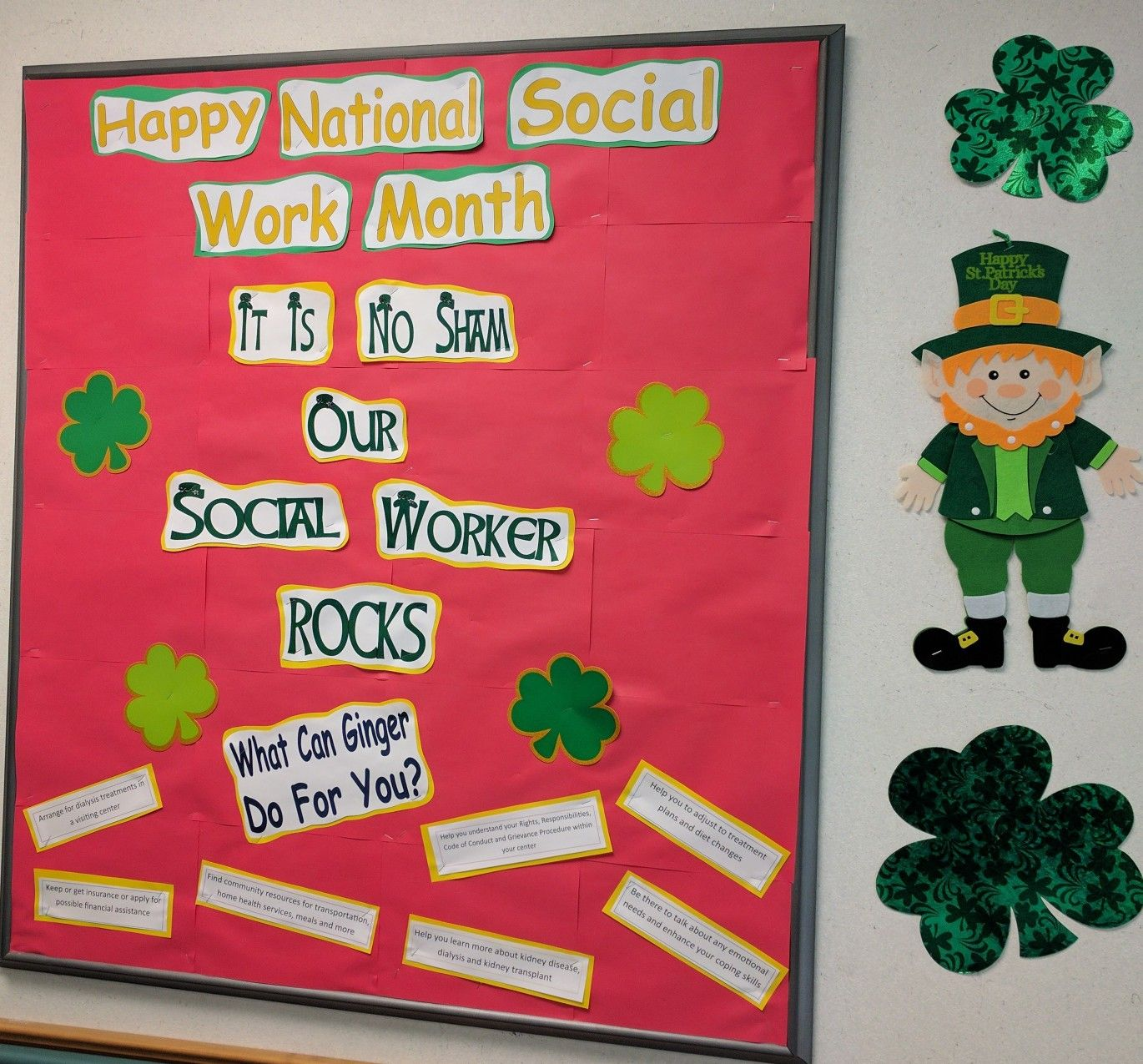 Happy National Social Work Month Bb Dialysis Clinic