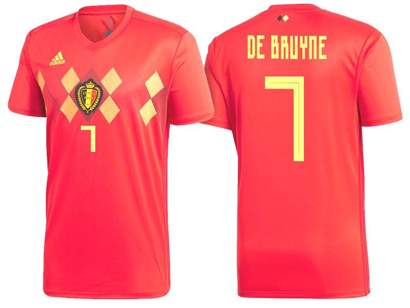 purchase cheap 7c691 08bcc 2018 Belgium Soccer Jersey kevin de bruyne | 2018 Belgium ...