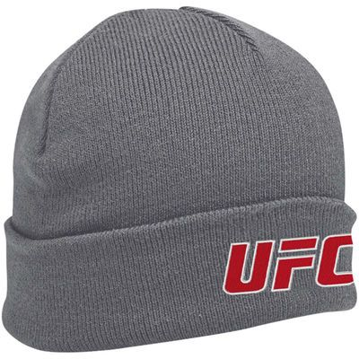 UFC Antigua Brisk Knit Beanie – Charcoal