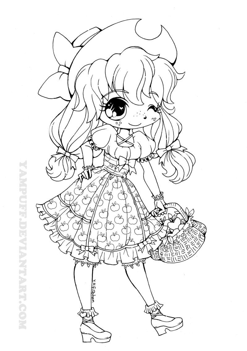 My Little Lolita: Applejack by *YamPuff on deviantART LOVE ...
