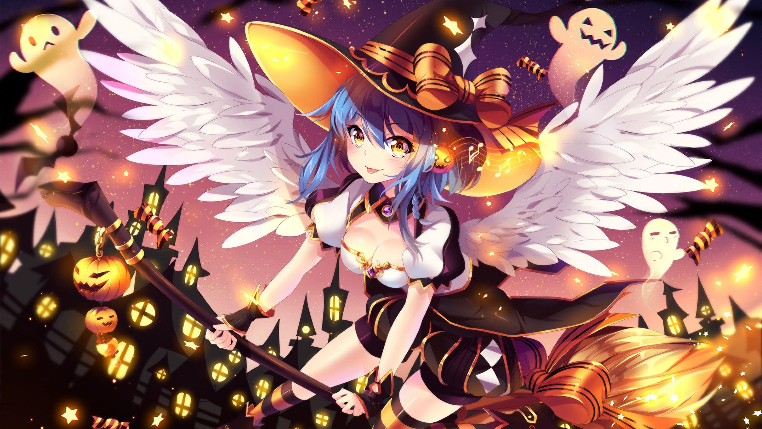 Pin On Ooc Ideas Halloween anime wallpaper hd