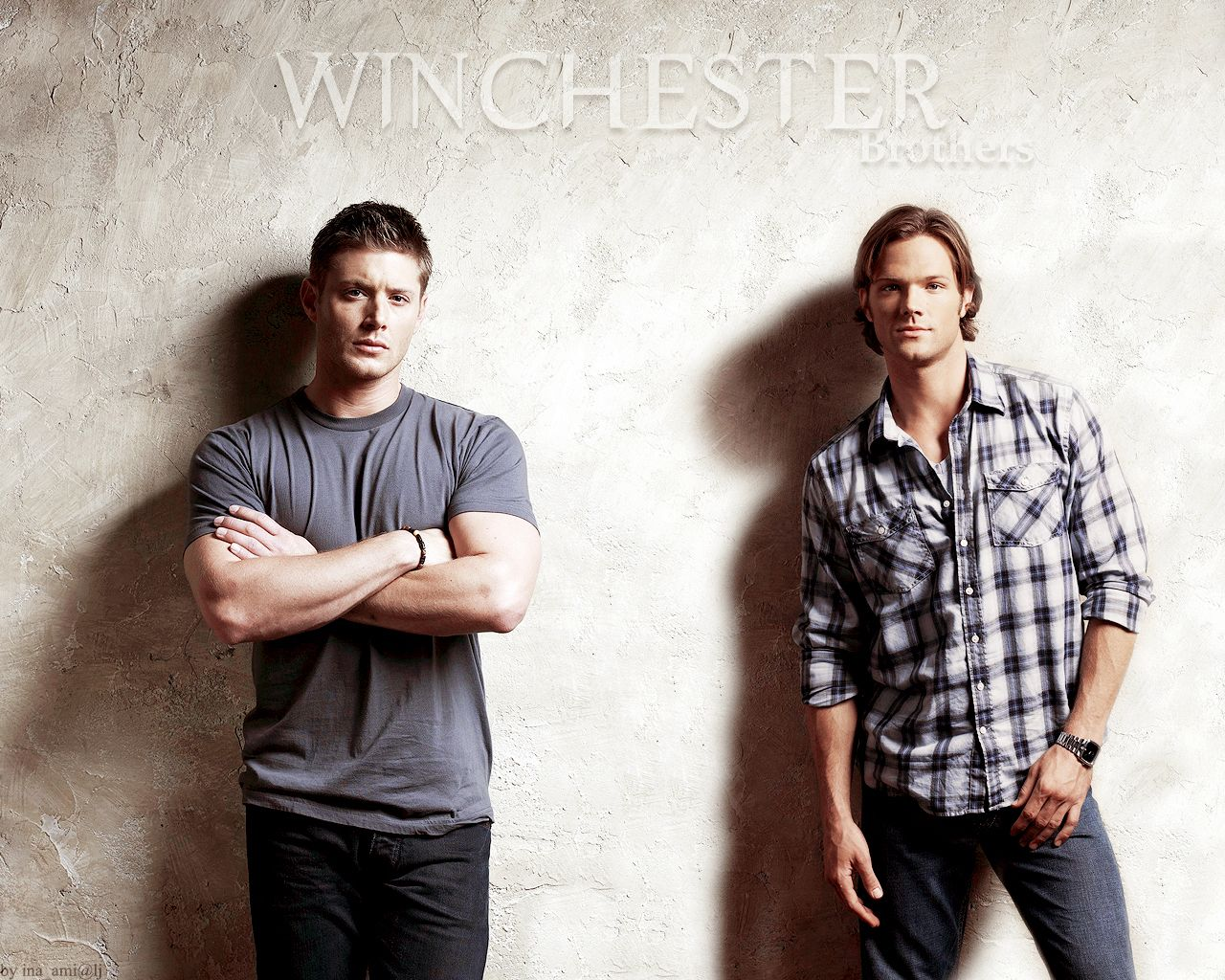 Sam And Dean Winchester Wallpaper Sam Dean Supernatural
