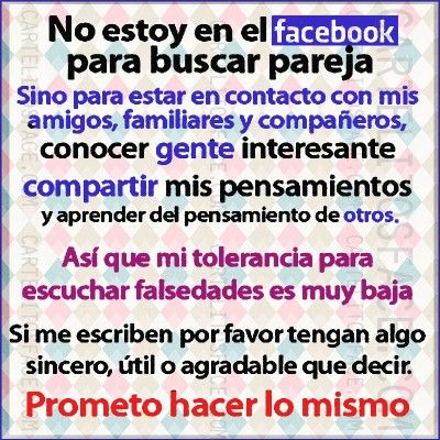 No Estoy En Face Para Buscar Pareja Frases Facebook Quotes Y