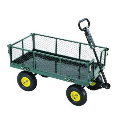 Tricam Industries 3 Cu Ft Steel Garden Yard Cart Sc100 D1 At The