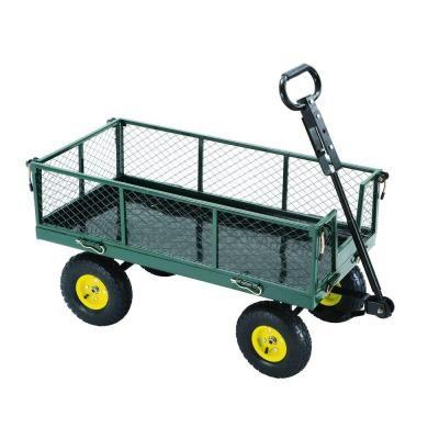 steel garden yard cart sc100 d1 at the home depot - Home Depot Garden Cart