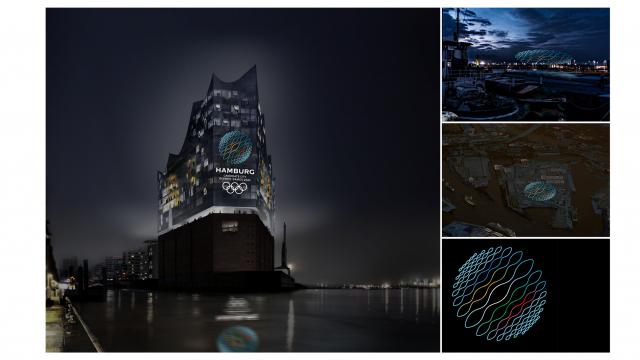 Reflecting the Spirit of the Games: Corporate Design für Hamburg als Candidate City für die Olympischen Spiele 2024. #Mutabor #Design #Corporate #Identity #Hamburg #Olympia #Sport #Spiele