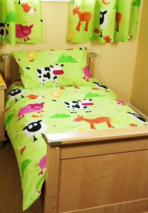 Farmyard Cot Bed Junior Duvet Set Cot Bed Duvet Cover 100 Cotton Baby Bedroom Sets Toddler Bed Set Baby Nursery Bedding
