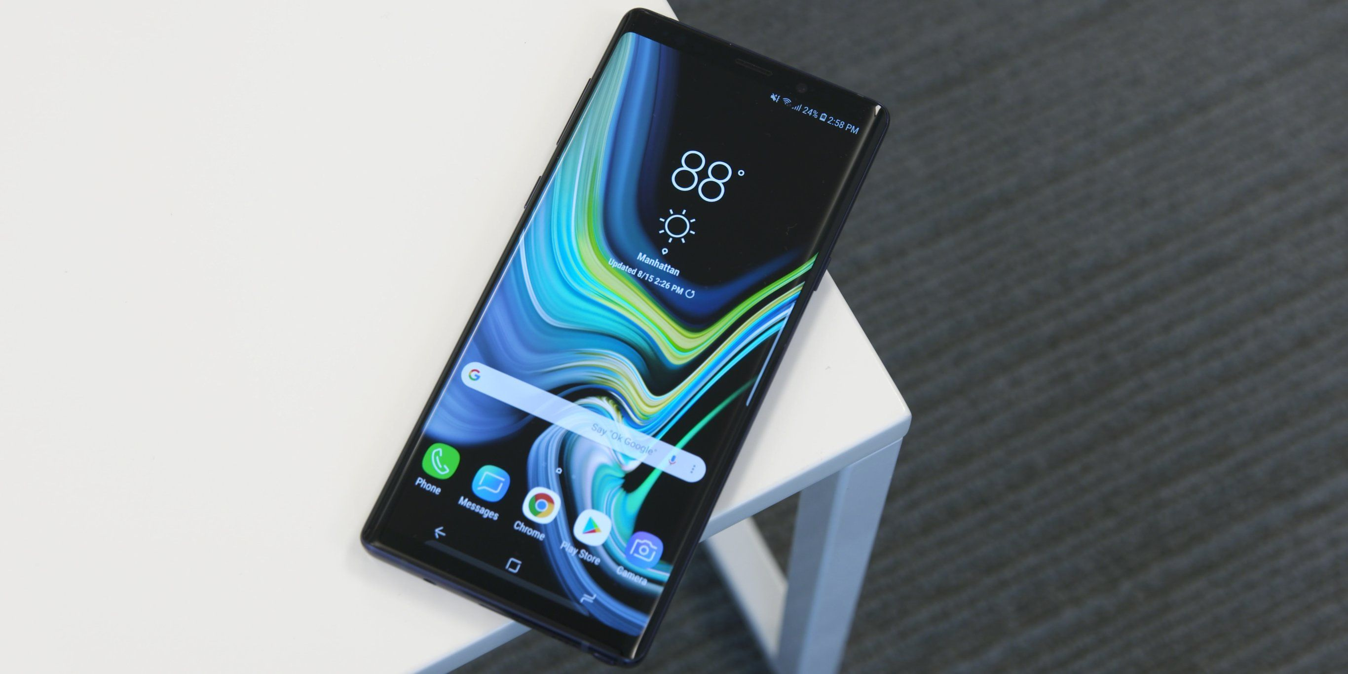 The Samsung Galaxy Note 9 is a $1,000 phone that's actually