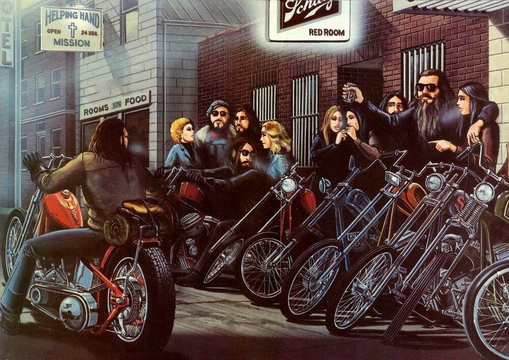 Canvas David Mann Art Print Poster