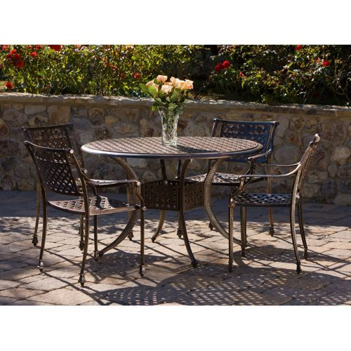 900 465 table Tahoe 5piece Patio Dining Set Outdoor