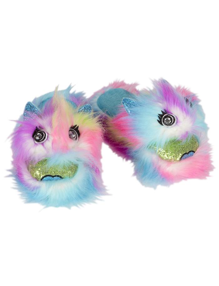 Carters Baby Monster Bedroom Shoes: Monster Fur Slippers
