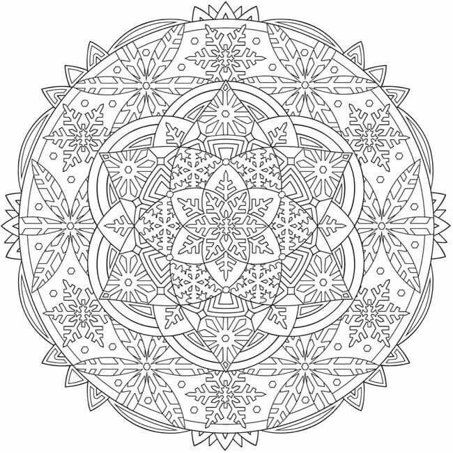Mandala Coloring Page Mandala Coloring Pages Mandala Coloring
