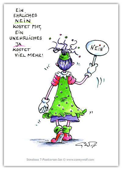 Stineliese Postkarte - Nein ...