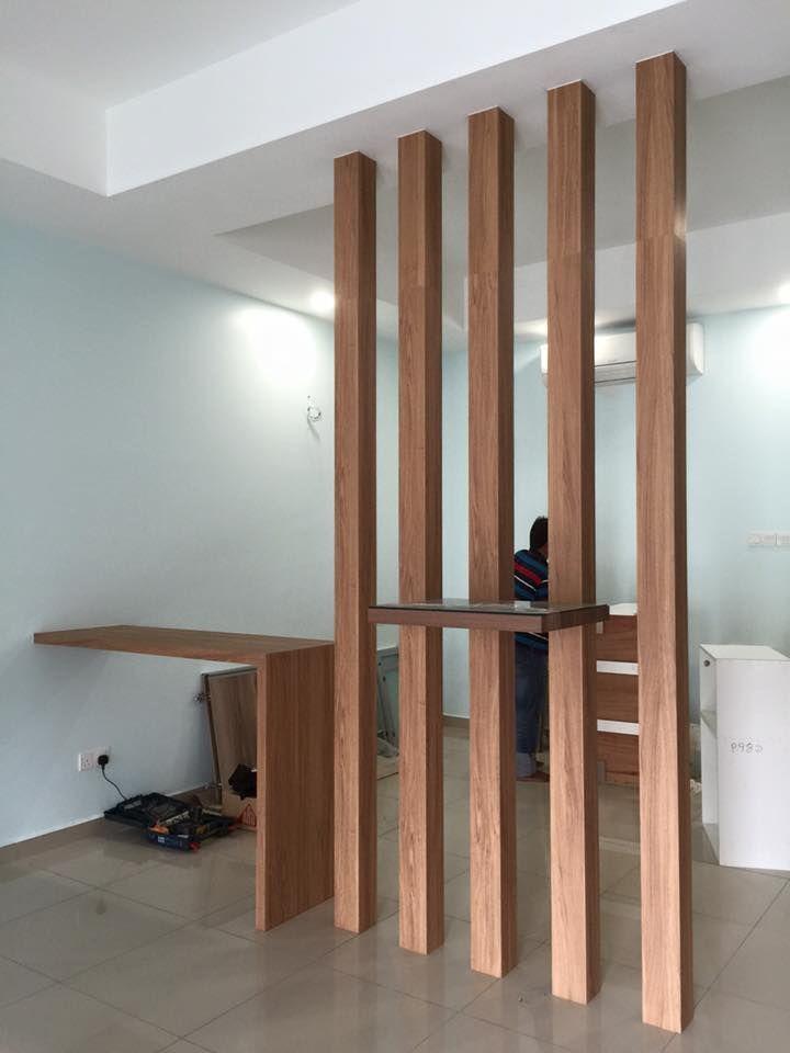 Altar Simple Woodwork Plywood Laminate Pillar